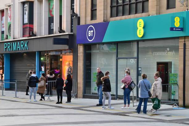 GBR: Shops Reopen As Wales Follows Roadmap Out Of Coronavirus Lockdown