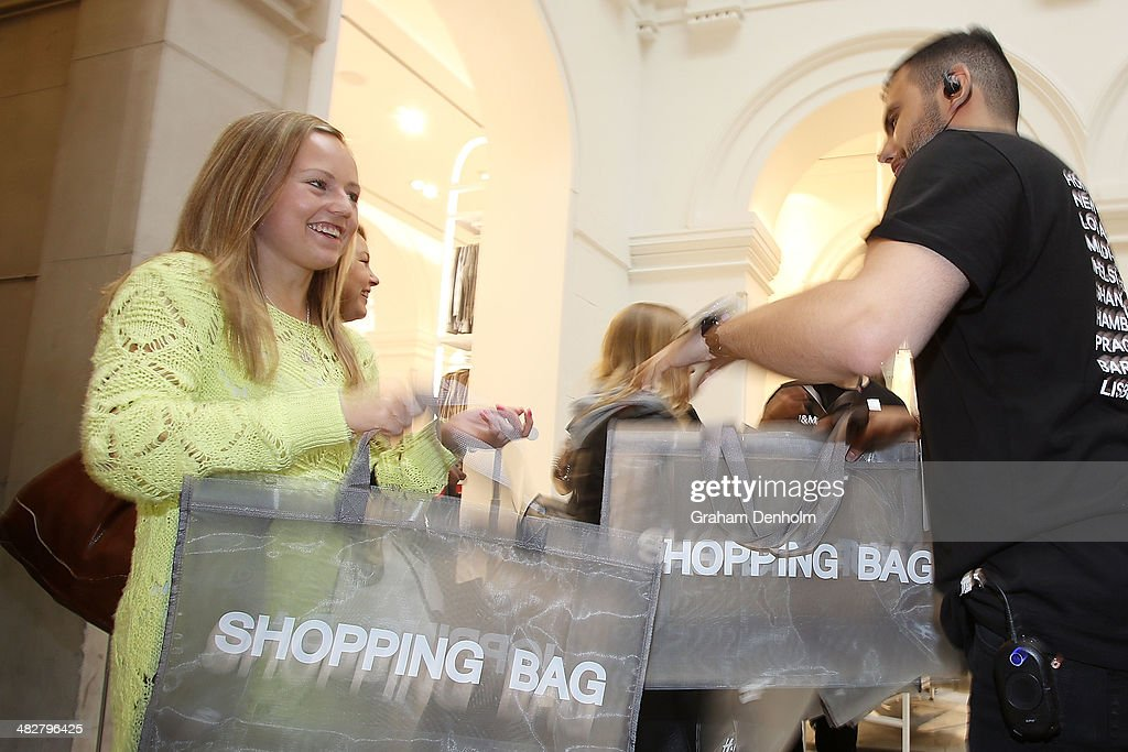 H&M Opens First Australian Store In Melbourne : News Photo
