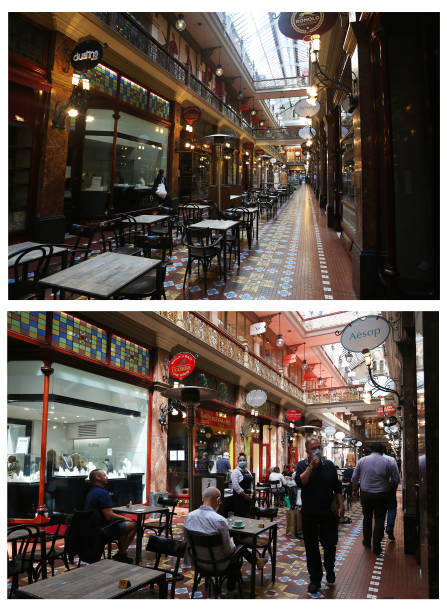 AUS: A City Reopens: Views Around Sydney During And After 107 Days Of COVID-19 Lockdown