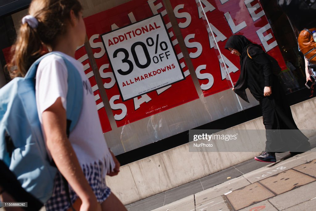 Retail Sales In London : ニュース写真