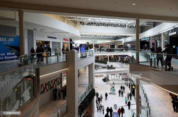 Shoppers walk through and shop at Mall Of America in Bloomington, Minnesota on October 14, 2018.