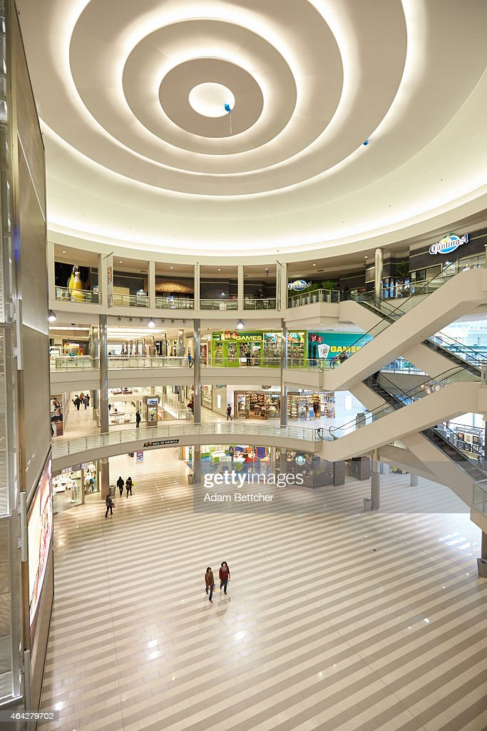 Shoppers walk through Mall of America during a media tour of its security systems on February 23, 2015 in Bloomington, Minnesota. In a newly released video, Somali militant group al-Shabaab called for terror attacks at a number of sites, including Mall of America, the largest shopping mall in the United States.
