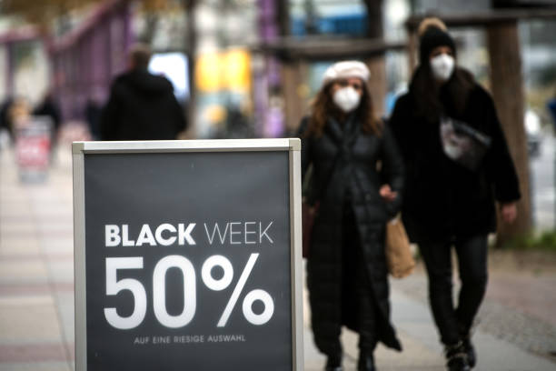 DEU: Black Friday Retail And Christmas Shopping In Germany