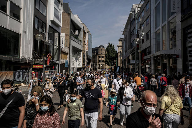 DEU: Consumer Economy With Germany Looking To End Compulsory Mask Wearing