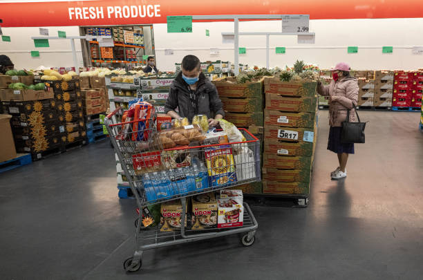 CA: Inside A Costco Wholesale Location Ahead Of Earnings Figures