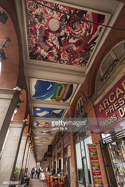 Shopping arcade at Toulouse Capitole