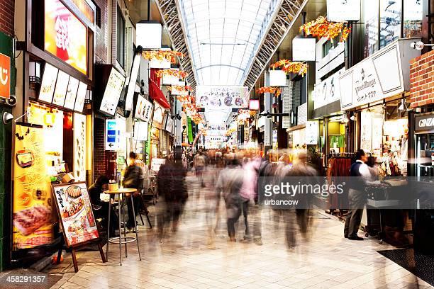 東京のショッピングアーケード