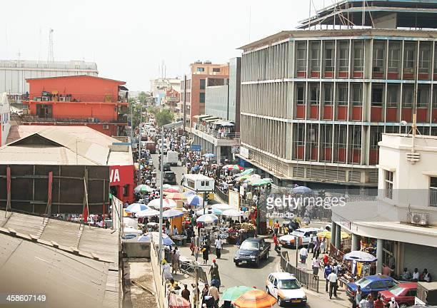área de compras - ghana africa fotografías e imágenes de stock