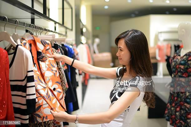 Shopping At Clothing Store - XXXLarge