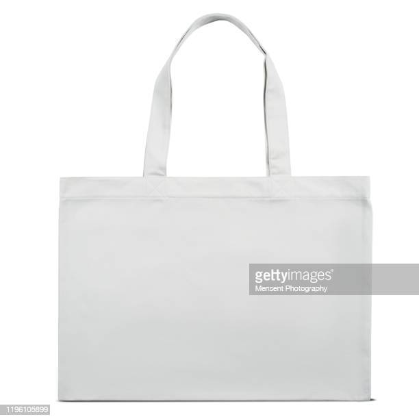 shopping bag over white background - reusable bag stock pictures, royalty-free photos & images