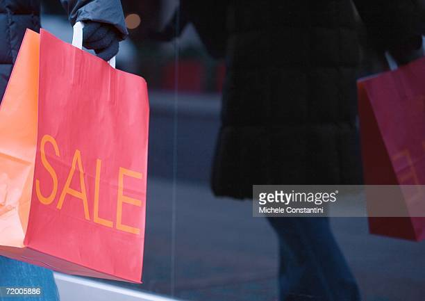 shopping bag - typographies stock photos and pictures