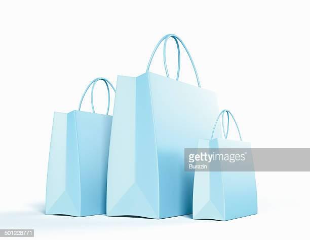 shopping bags - 紙袋 ストックフォトと画像
