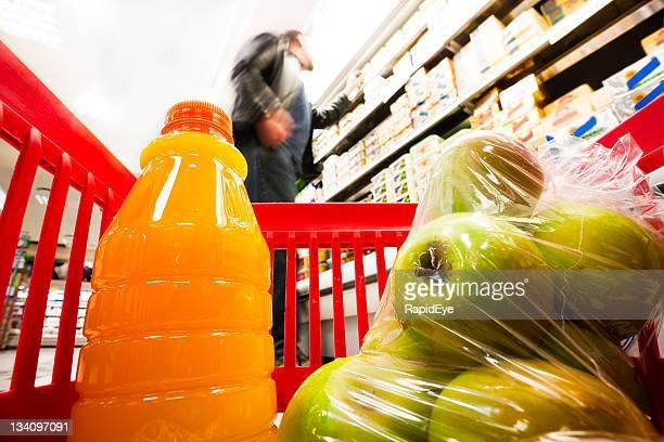 Vista de la cesta de compras