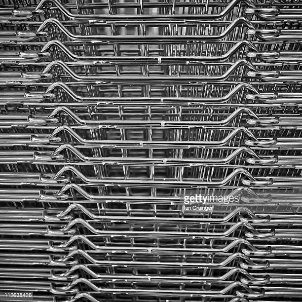 shopping baskets - ian grainger stock pictures, royalty-free photos & images
