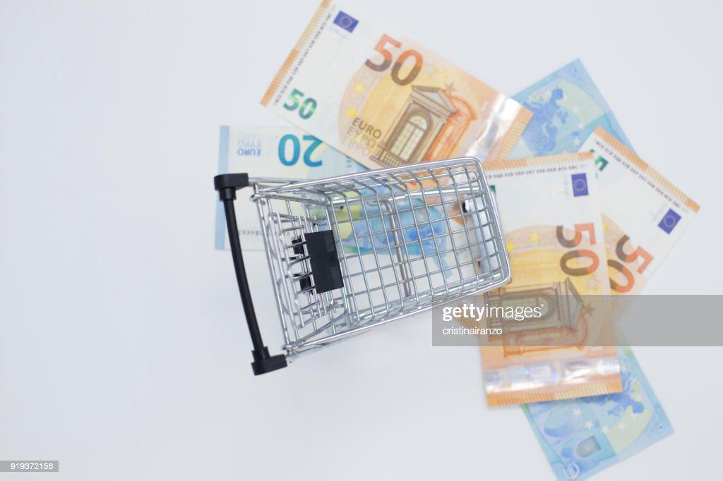 Shopping cart : Stockfoto