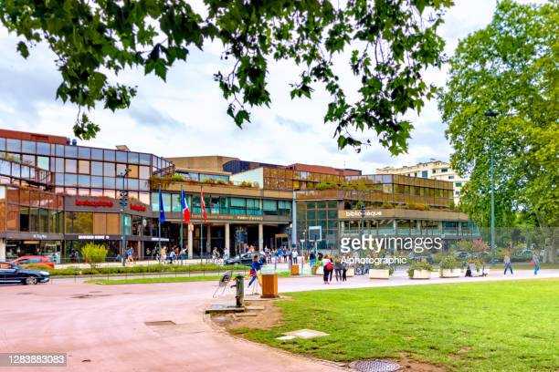 shopping centre of annecy - france - west direction stock pictures, royalty-free photos & images