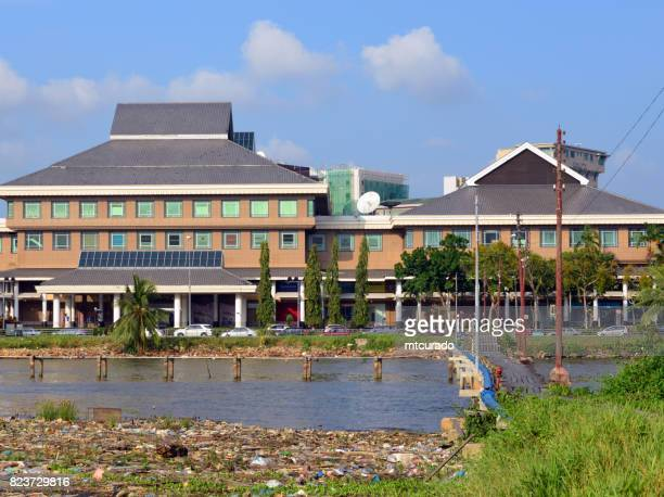 yayasan shopping complex, bandar seri begawan, brunei darussalam - bandar seri begawan stock photos and pictures