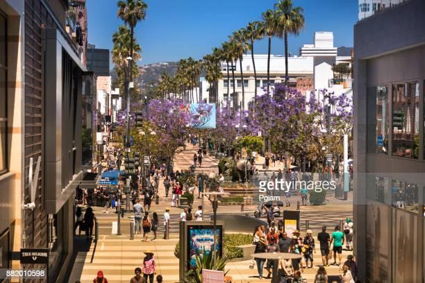 Einkaufsviertel in Santa Monica, Kalifornien USA