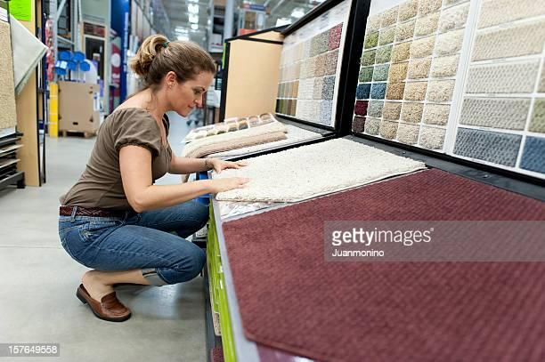 Compras para uma nova Carpete