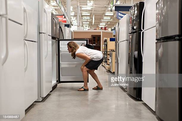 Shopping for a refrigerator