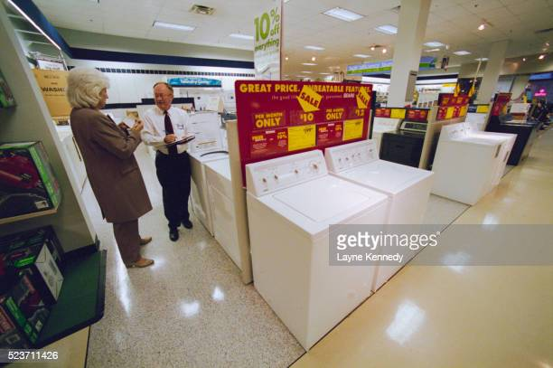 Shopping for Appliances at Sears