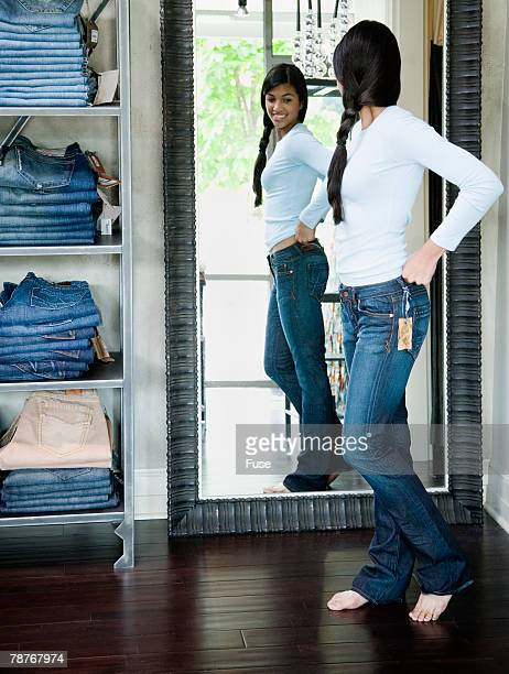 Shopping for Denim Jeans