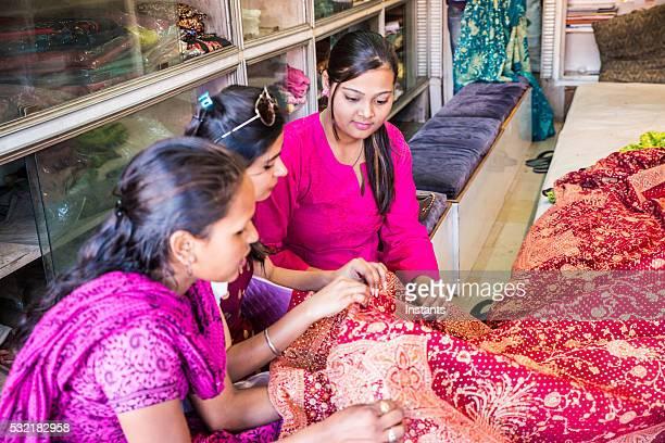 Shopping for fabrics