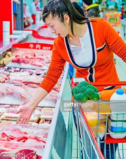 shopping für Fleisch