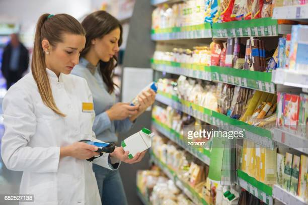 Shopping for organic product