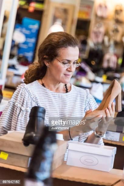 shopping für Schuhe