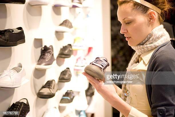 Shopping for sport shoe