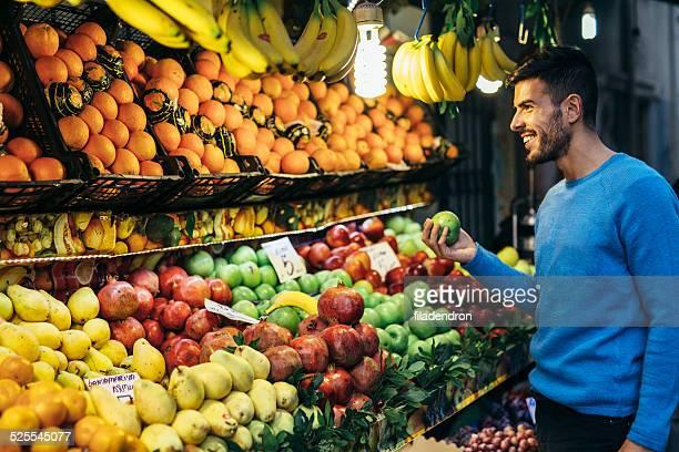 Einkaufen Obst
