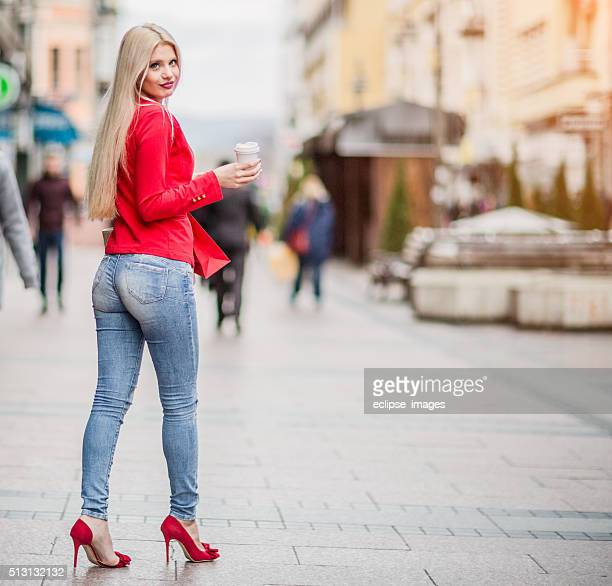 Chica de compra