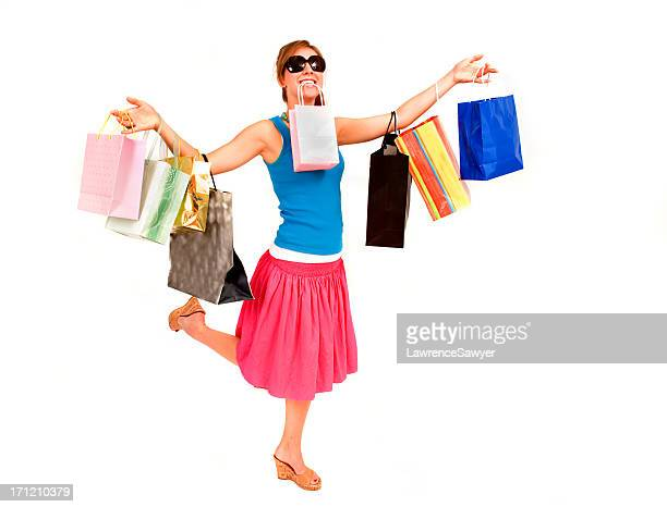 Shopping Girl with bags of stuff