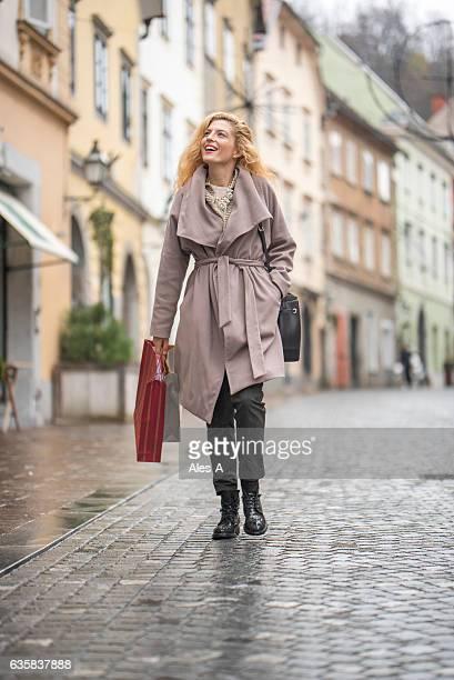 shopping in town - kullersten bildbanksfoton och bilder