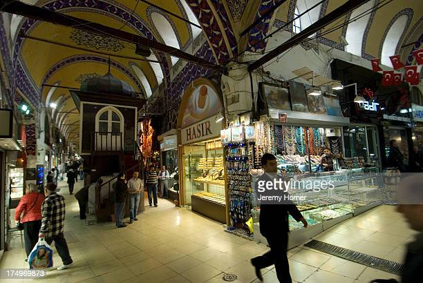 Shopping inside The Grand Bazaar is like entering Aladdin's Cave