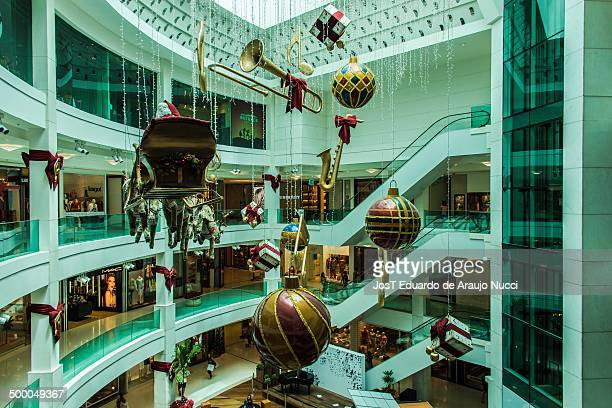 Shopping Leblon in the city of Rio de Janeiro and its Christmas decor.