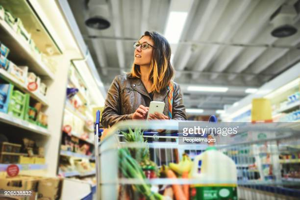 shopping lists in app format - consumerism stock pictures, royalty-free photos & images