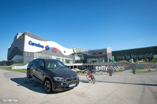 A shopping mall is seen in central Bucharest Romania on October 7 2017