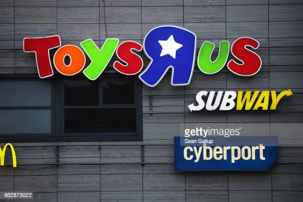 A shopping mall that includes a Toys 'R' Us store stands in Steglitz district on March 16 2018 in Berlin Germany The future of the reported 66 Toys...