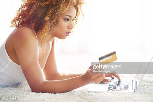 Shopping online when you don't feel like leaving the house
