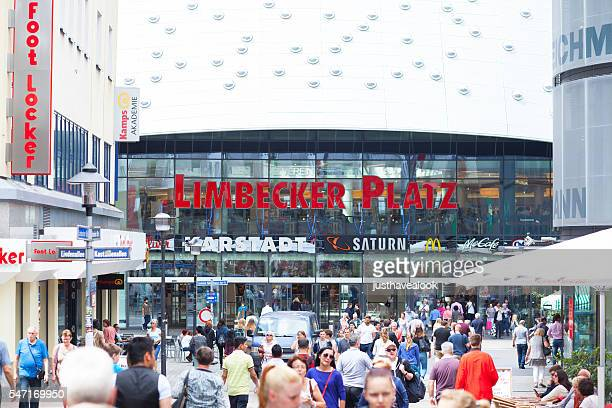 Shopping people and mall Limbecker Platz
