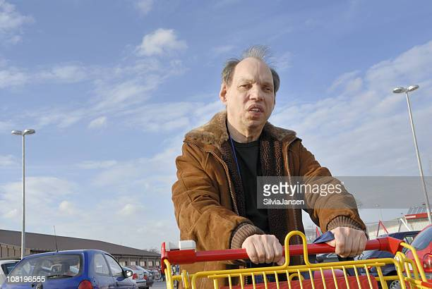 shopping - receding hairline stock pictures, royalty-free photos & images