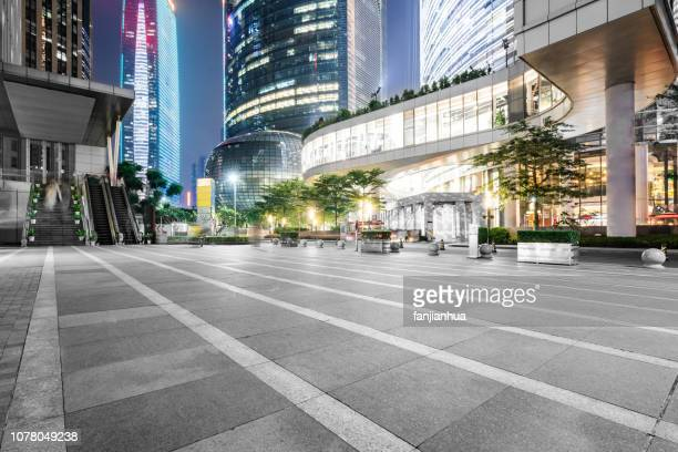 shopping plaza,guangzhou - shopping centre stock photos and pictures
