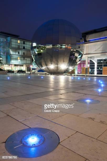 Shopping precinct, At-Bristol, Bristol, England