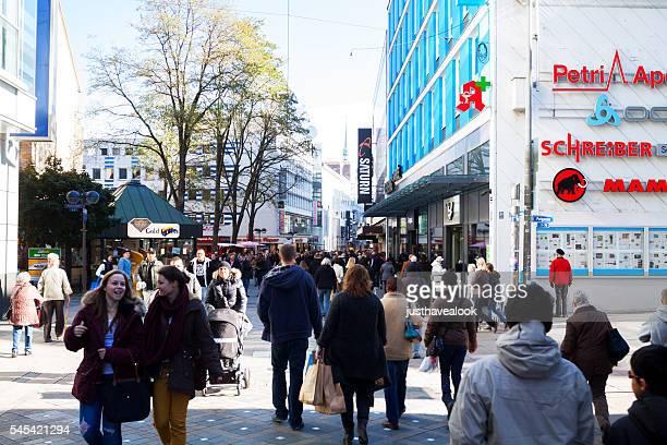 Shopping scene in Dortmund