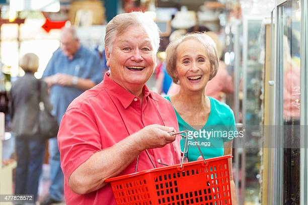shopping seniors - rich's_(department_store) stock pictures, royalty-free photos & images
