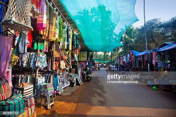 Shopping street at Panaji Goa India