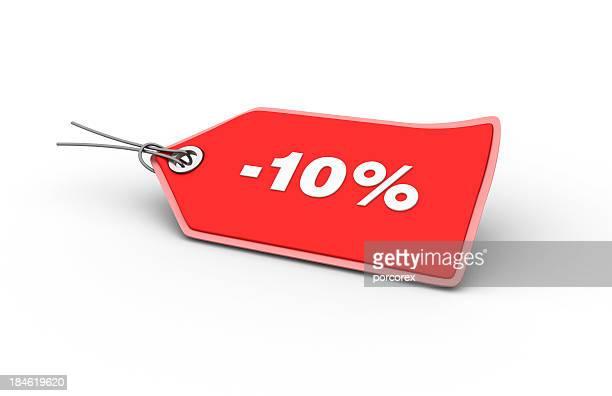 10% Shopping-Tag