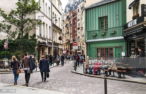 compras o quartier latin - paris - fotografias e filmes do acervo